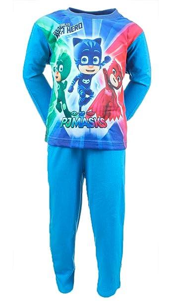 PJ Masks Superpigiamini - Pijama Dos Piezas - para niño Azul Azul Claro