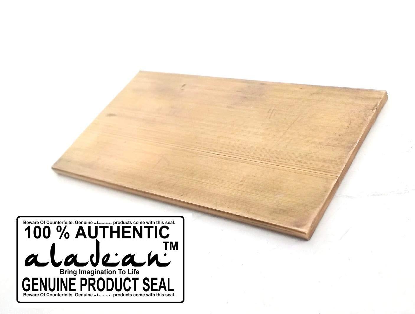 1//4 x 2 Brass Flat BAR 4 Long C360 Solid .25 Plate 6mm Mill Stock H02 Craft DIY milling Lathe