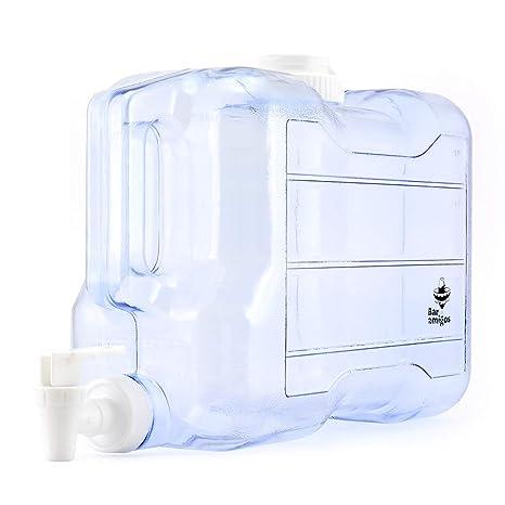 Barra Amigos - Dispensador de tapón de agua para escritorio, plástico, ideal para oficina