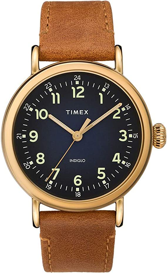 Timex 40 mm Standard Leather Strap