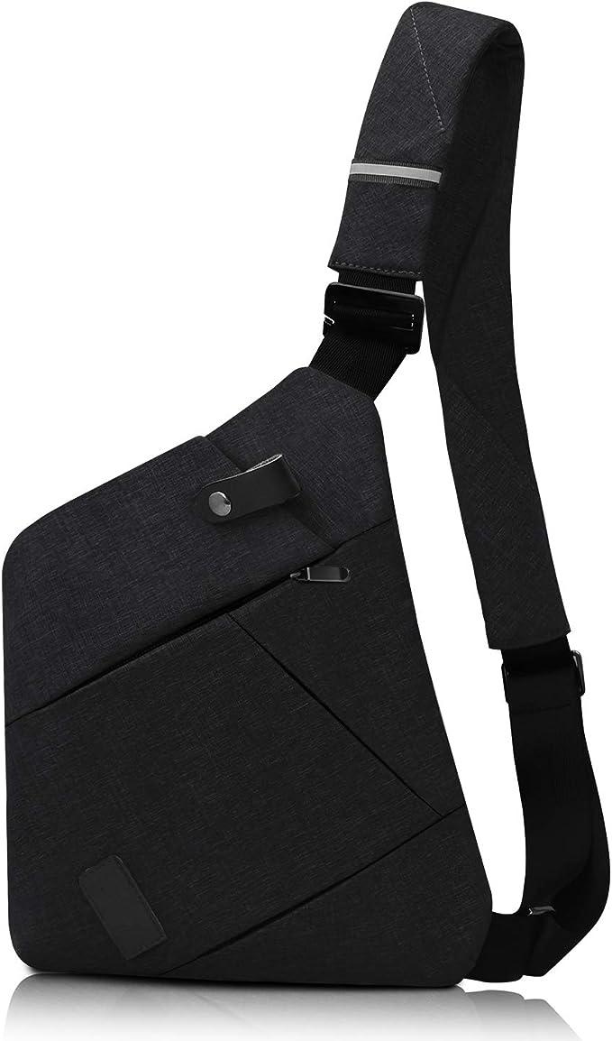 Sling Bag An Octopus And Stingray Mens Chest Shoulder Backpacks Crossbody Military Bag Pack