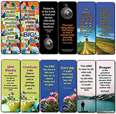 Encouraging Christian Quotes About Life and God (30 Pack) - Handy