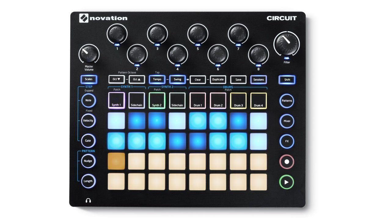 Novation Circuit Groove Box + Sample Import w/ 1/8'' MIDI Cable & Ableton by Novation (Image #5)