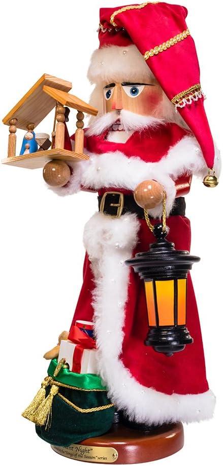 "Kurt S. Adler 18.5"" Steinbach Silent Night Santa Nutcracker"