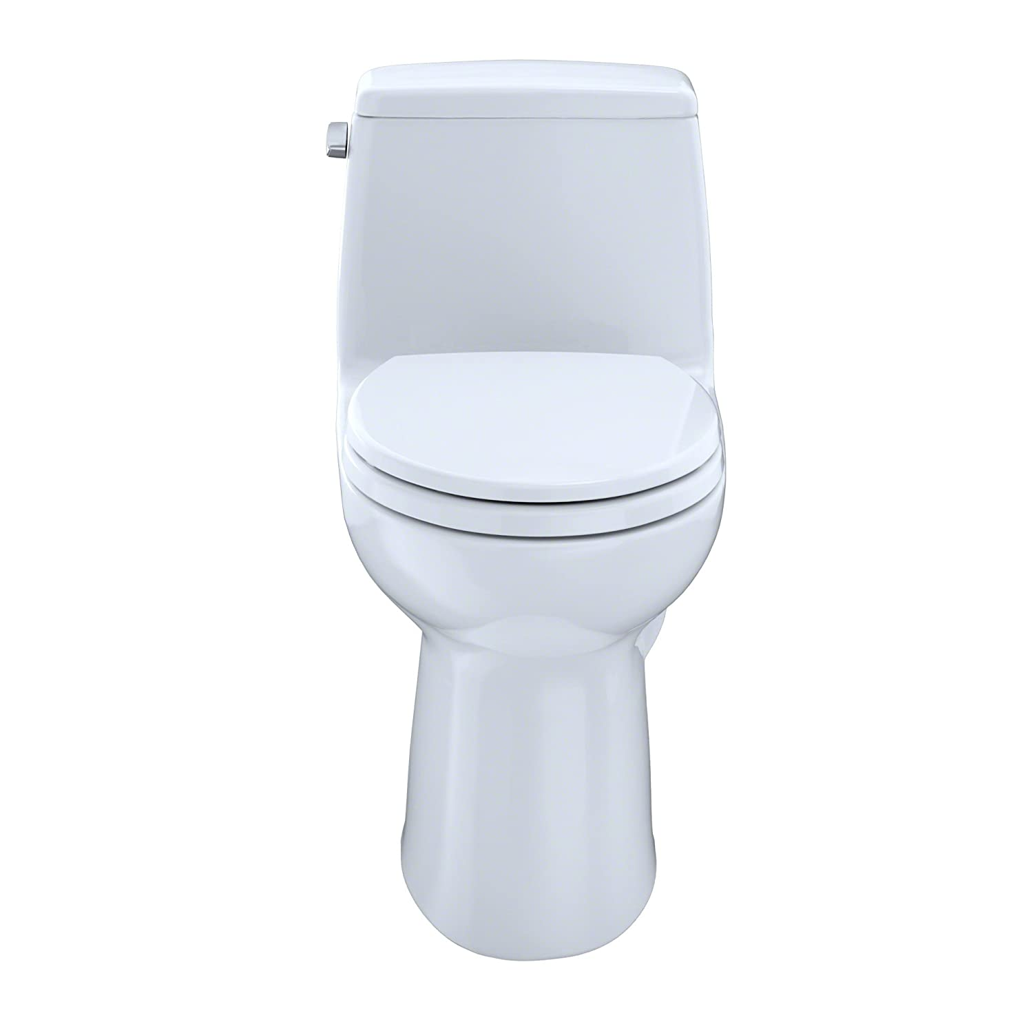 TOTO MS854114#01 Ultimate Elongated One Piece Toilet, Cotton White ...
