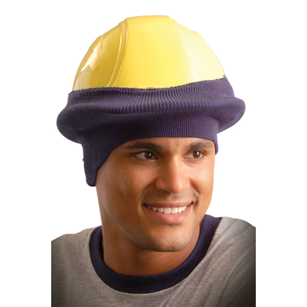 Stay Warm - Classic Hard Hat Tube Liner - One Size Fits All - NAVY BLUE-24-PACK