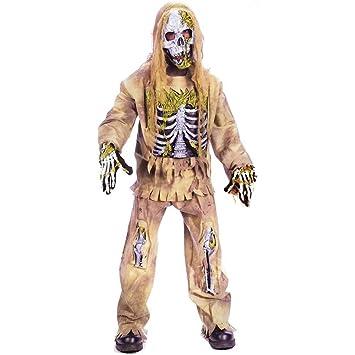 Fun World Hombre Mujer Unisex M Boy - Esqueleto Zombie Disfraz de ...