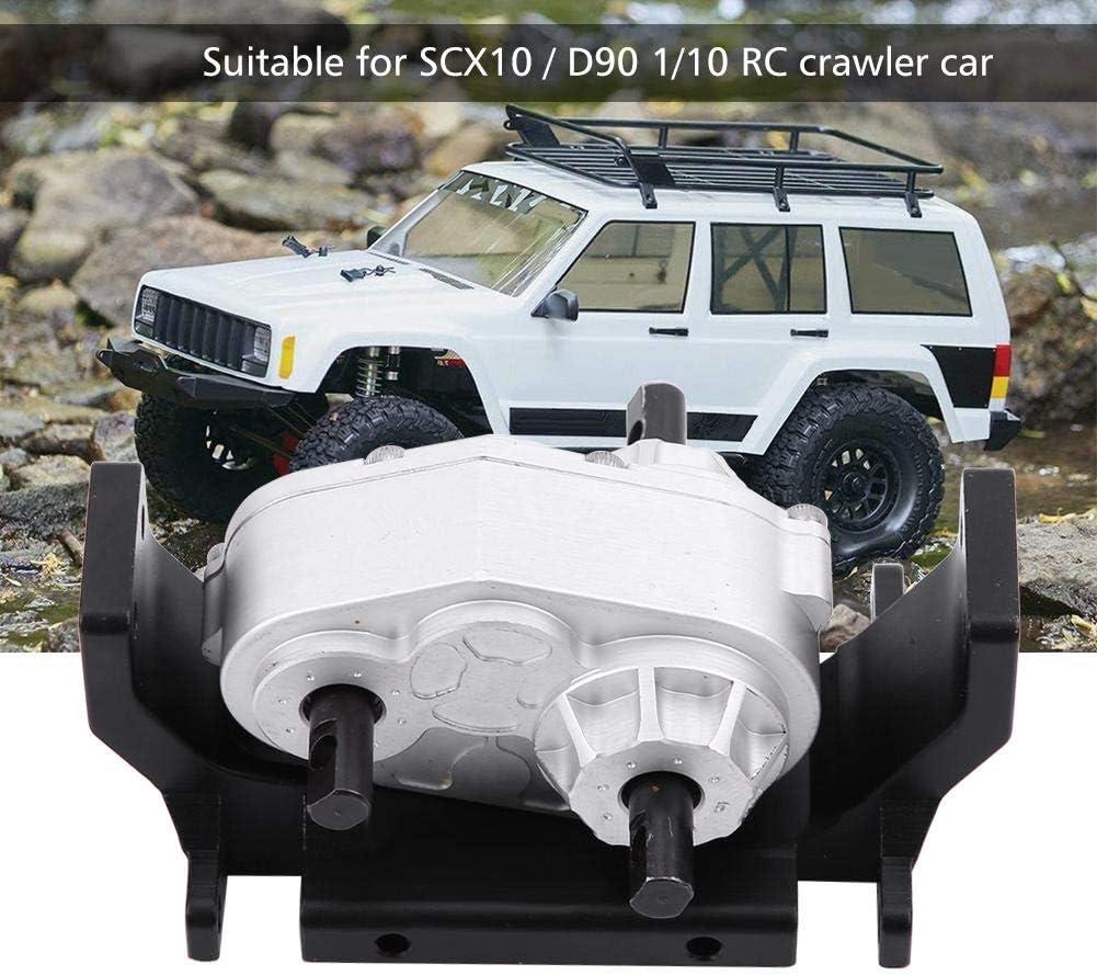 1//10 Metall Verteiler Getriebe für 1:10 RC Auto SCX10 RC4WD Gelande II D90  X1Q4