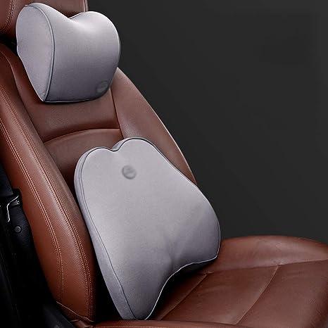 Amazon.com: QIYINGING – Cojín de cintura para coche ...