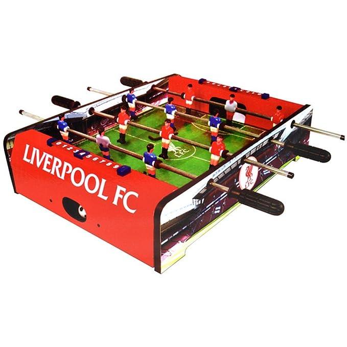 Liverpool FC Official - Futbolín de mesa (Talla Única/Rojo/Verde): Amazon.es: Ropa y accesorios