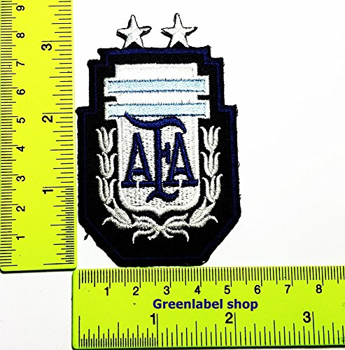 Each country's flag AFA Argentina flag Patch Logo Sew Iron on Embroidered Appliques Badge Sign Costume Send Free Registration