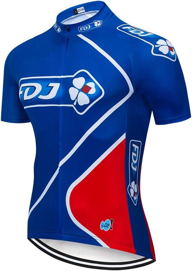 Catena Maglia Ciclismo da Uomo Manica Lunga per Bici Asciugatura Veloce Maglietta Traspirante Cycling Jersey