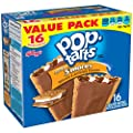 Kellogg's Pop-Tarts Frosted Toaster Pastries, Frosted S'mores, 16 Count