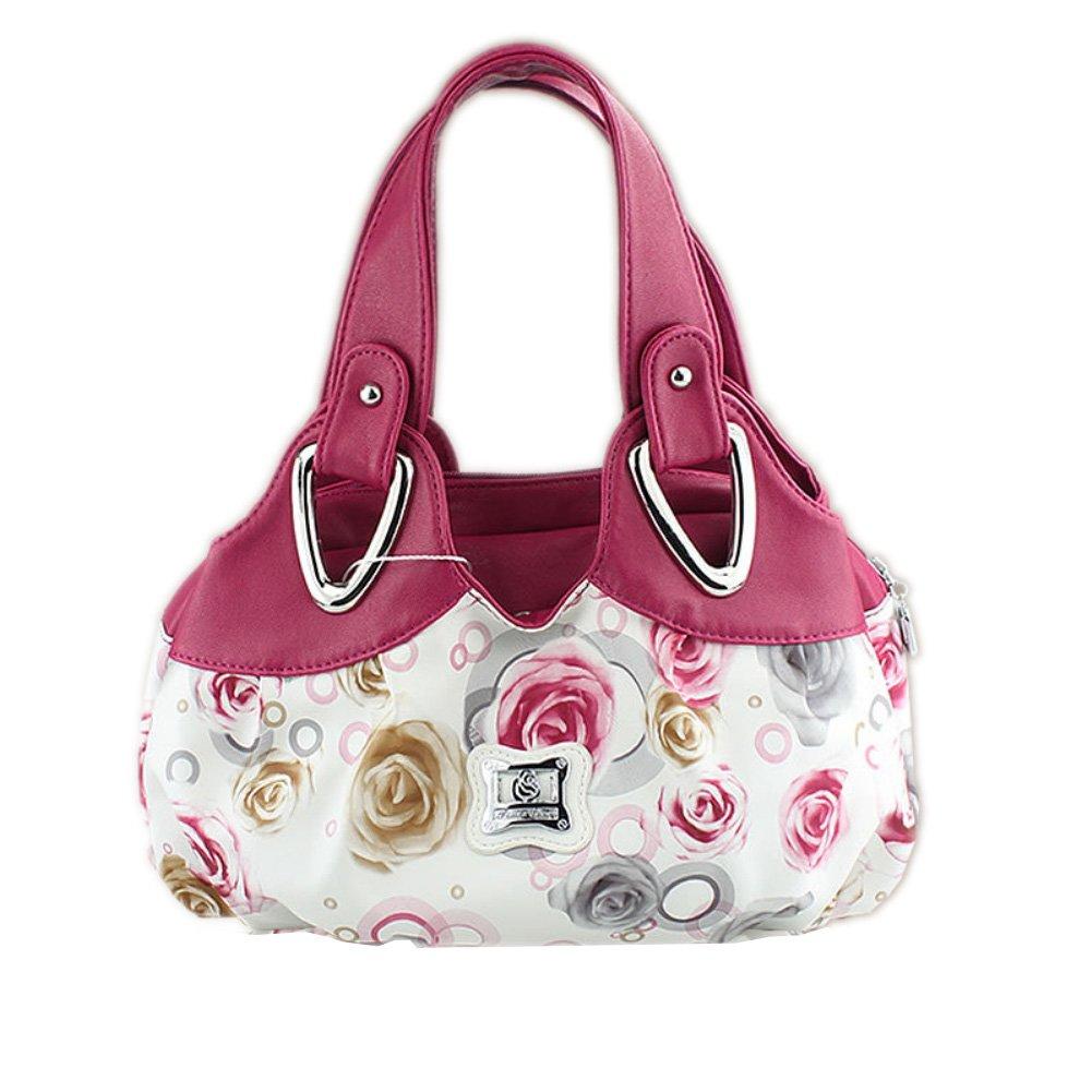 0851c5df0eec Buy Womens Designer Purses and Handbags Ladies Shoulder Bags Top-Handle  Satchel Tote Bags Purse (Pink) by CloudBag Online at Low Prices in India -  Amazon.in