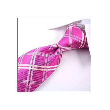 DW&HX Corbata cuadros Corbata para hombre, Corbatas de boda Lazos ...
