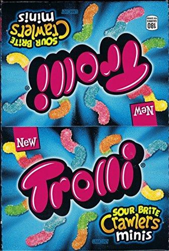 - Trolli Sour Brite Crawlers Minis 2 oz each (pack of 18)