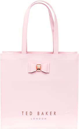 0a5dee9061db3e Ted Baker  Bethcon  Bow Detail Icon Shopper Bag Large (Dusky Pink ...