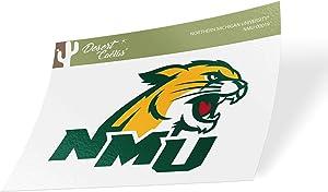 Northern Michigan University NMU Wildcats NCAA Vinyl Decal Laptop Water Bottle Car Scrapbook (Sticker - 00019)
