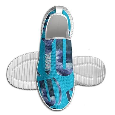 Screw You 3D Print Men Walking Shoes Lightweight Casual Running Shoes