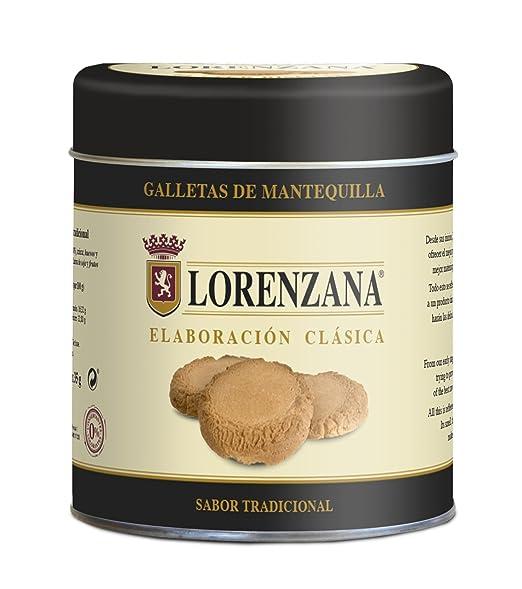 Lorenzana - Galleta de Mantequilla - Lata 6 Unidades