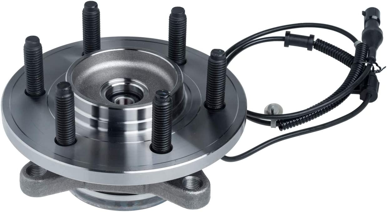 TUCAREST 515095 Front Wheel Bearing and Hub Assembly Compatible With 2007 2008 2009 2010 Ford Expedition Lincoln Navigator 6 Stud Hub W//ABS Fits 4WD vehicles Only