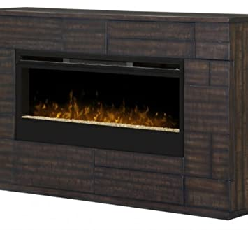 dimplex markus glass ember bed electric fireplace mantel in boston - Electric Fireplace Mantels