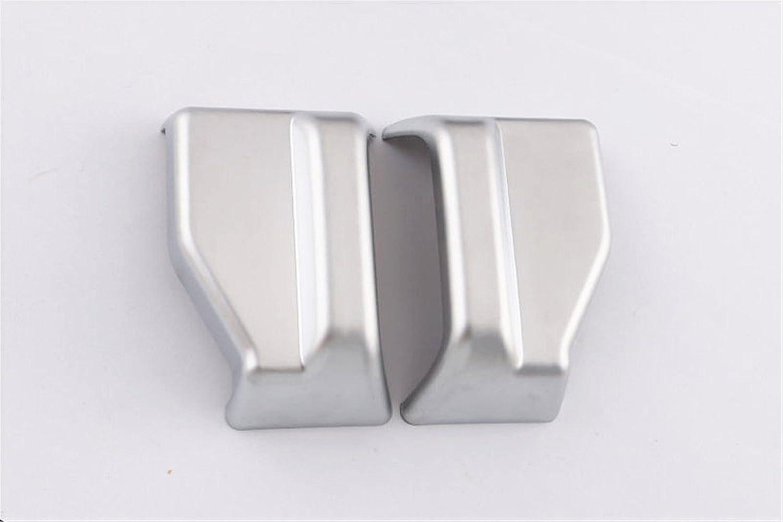 baodiparts Matte ABS Plastic Car Interior Seat Belt Decorazione Trim Trim 2-pack