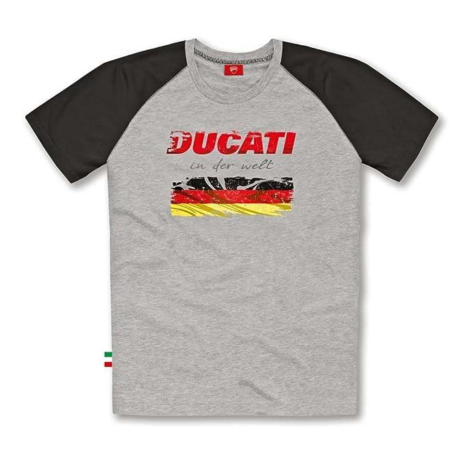 Amazon.com: Ducati playera para hombre de bandera alemania ...