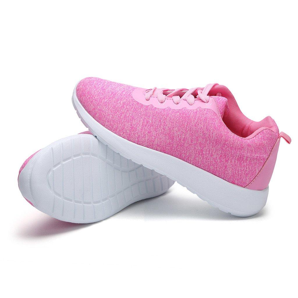 Hawkwell Women's Light Weight Sport Fashion Sneaker B071Z99WYD 9.5 B(M) US|Pink