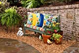 Pillow Perfect Outdoor Fresco Yellow Throw