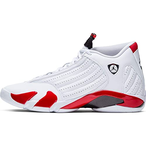 niesamowity wybór urzędnik jakość wykonania Nike Air Jordan XIV 14 Retro Candy Cane RIP Hamilton 487471-100 US Size 11  White