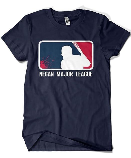 2020-Camiseta Premium, The Walking Dead -Negan Mayor League (Dr.Monekers