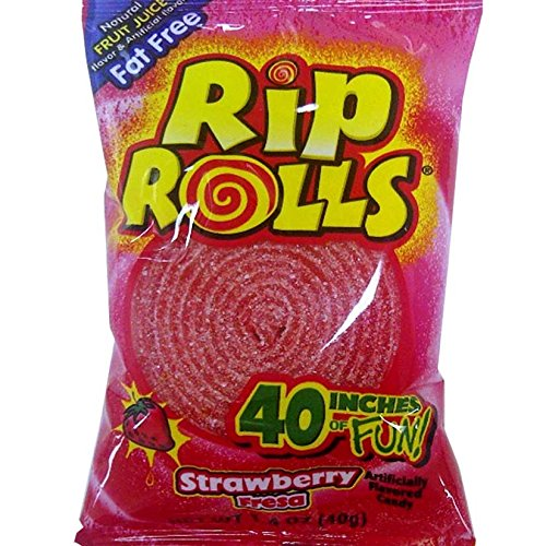Strawberry Rip Rolls: 24 Count