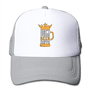 254a60f7e0fa94 Amazon.com: YPDN@MU Mens and Womens Quick Dry Don't Worry Beer Happy ...
