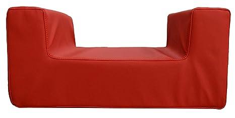BABY PAP – Cojín silla elevador para niños de espuma suave, asiento anatómico, recubrimiento de imitación de piel lavable, se adapta a cualquier ...
