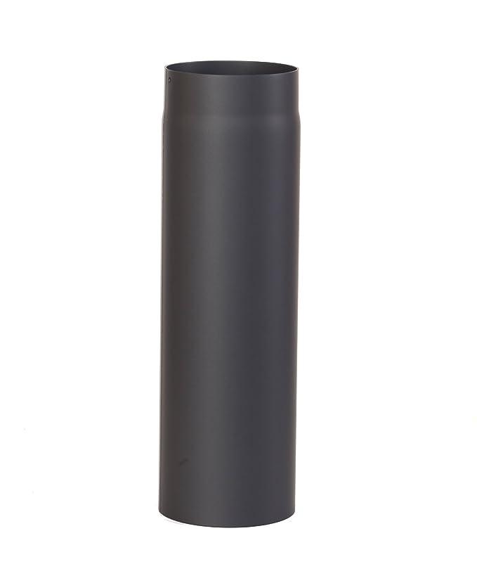 EiFi 2003023 - Tubo de estufa (120 x 1000 mm), color negro: Amazon.es: Bricolaje y herramientas