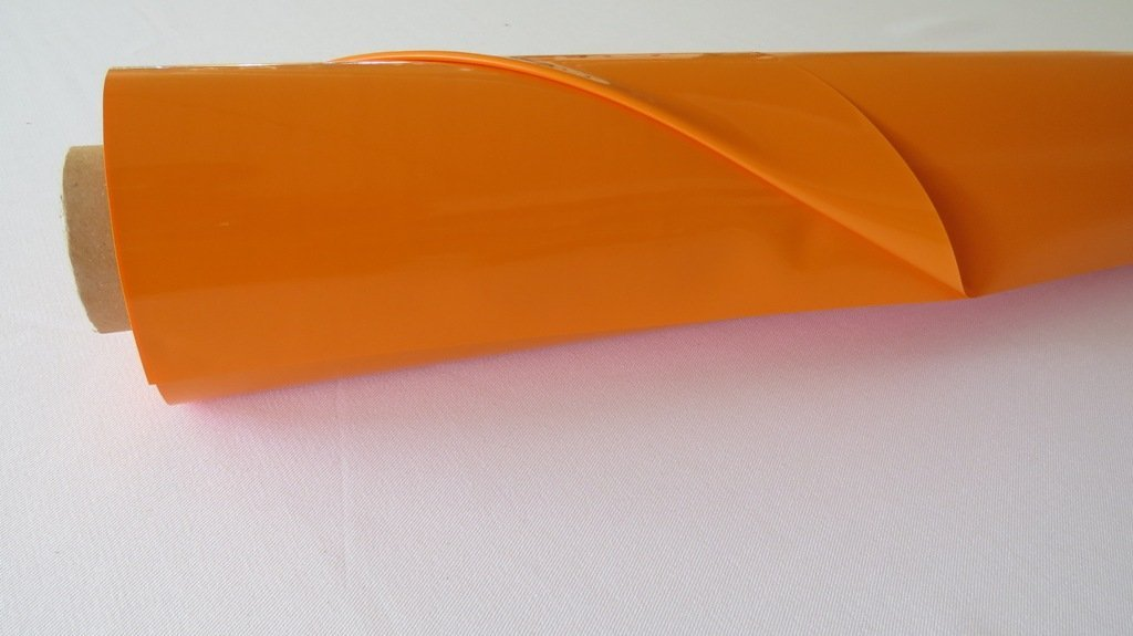 LACKFOLIE 130cm   30mtr orange