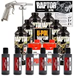 U-POL Raptor Dakota Brown Urethane Spray-On Truck Bed Liner Kit w/ Free Spray Gun, 6 Liters