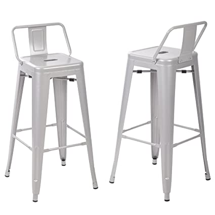 Amazoncom Paylesshere Set Of 230 Metal Frame Tolix Style Bar