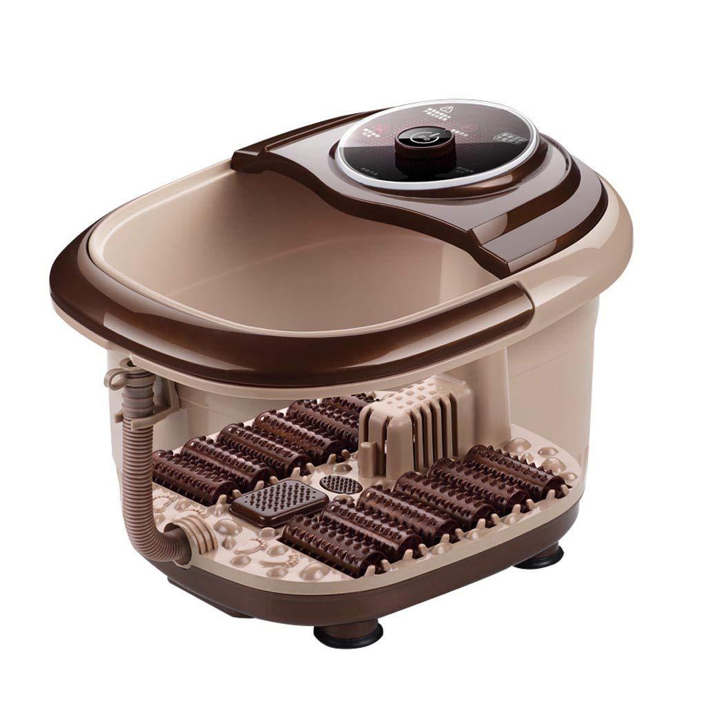 Portable Foot Spa Bath Massager Foot tub Foot tub for Soaking feet Vibration 500W Adjustable Temperature Control Roscloud@ (Color : Computer Style)