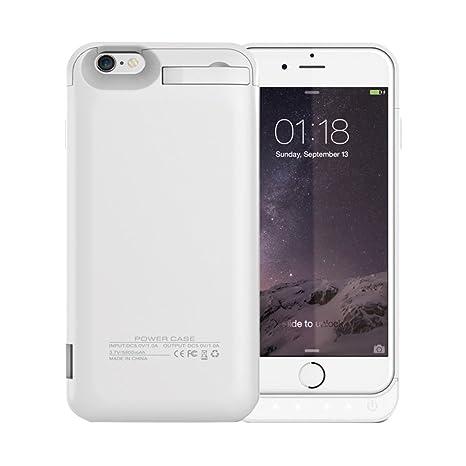 idealforce iPhone 6/6S recargable caso, 5800 mAh funda ...