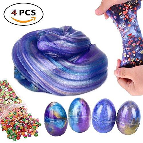 jumbo galaxy egg slime swirl