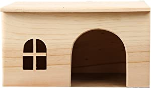 OMEM for Small Animals House Natural Life Tunnel System Such as Hamsters, Guinea Pigs, Golden Bears, Hedgehogs, Rabbits, Turtles, Easy to Clean