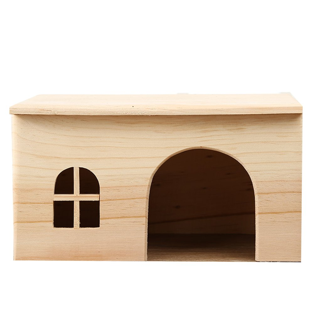 OMEM for Small Animals House Natural Life Tunnel System Such as Hamsters, Guinea Pigs, Golden Bears, Hedgehogs, Rabbits, Turtles, Easy to Clean (L)
