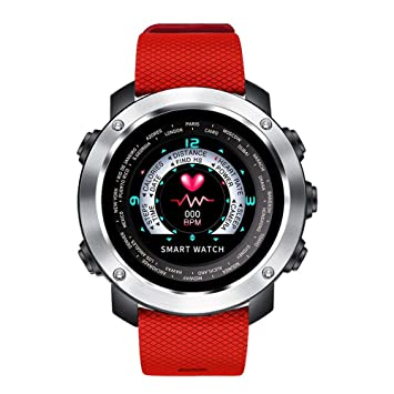 WULIFANG Reloj Digital Inteligente Calorías Impermeable Reloj Cámara por Control Remoto Stainlessred Fashion Watch Watch: Amazon.es: Deportes y aire libre
