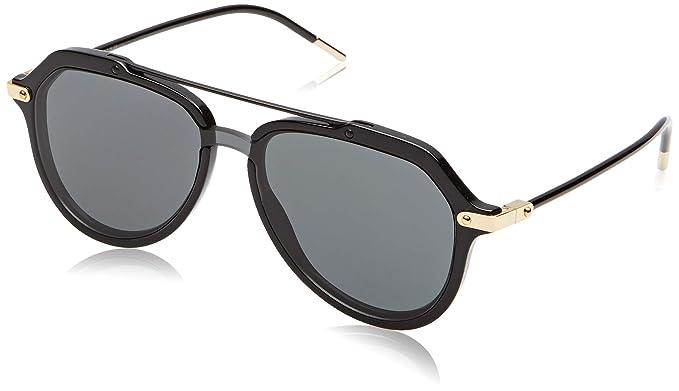 Dolce & Gabbana 0DG4330 Gafas de sol, Negro (Black), 45mm ...