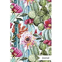 Journal: Cacti Succulent Journal Notebook Planner | 120-Page Lined Paper for Writing Ideas Planning Doodling Journaling for Women Girls Teens | 6X9 Softback Matte Cover