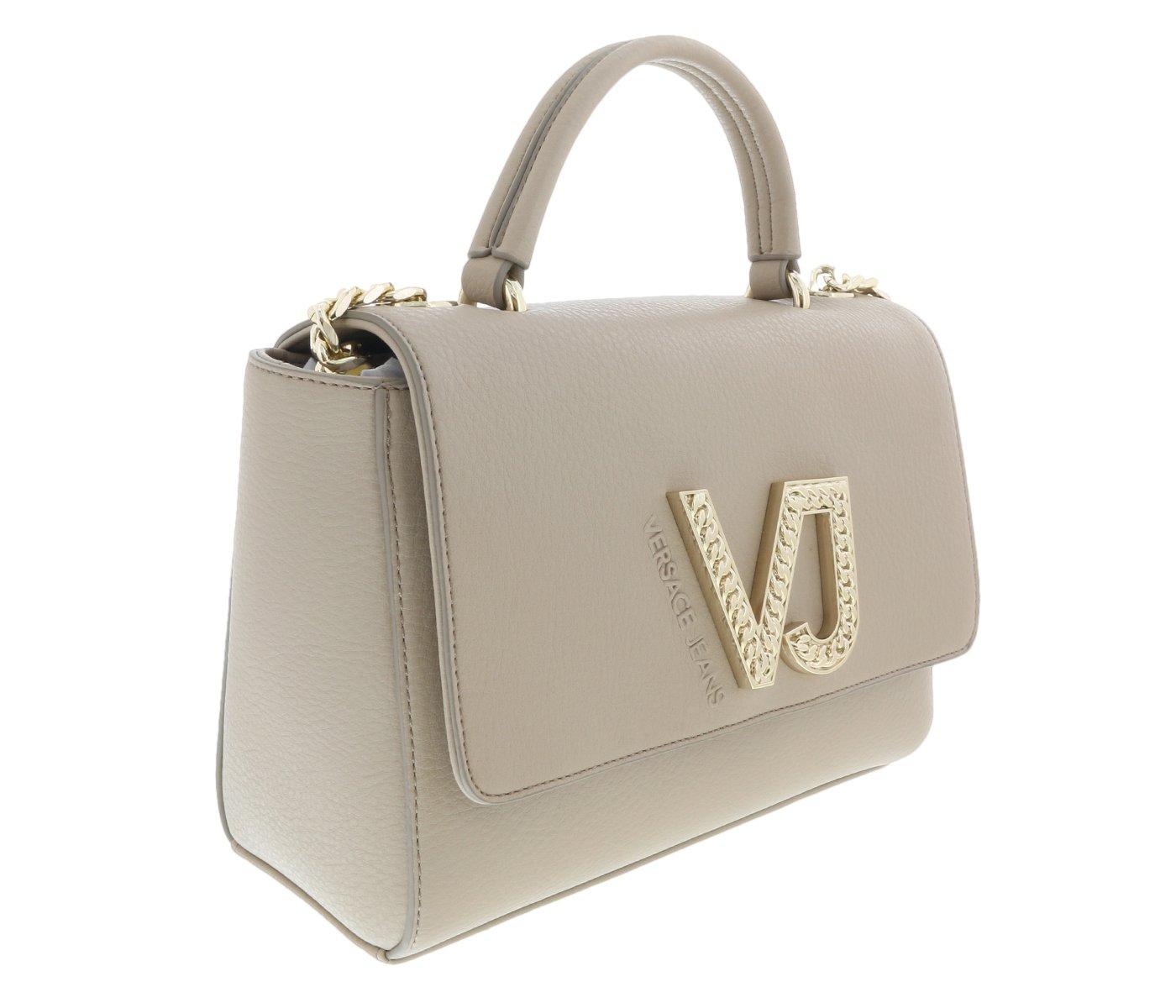 Versace EE1VRBBC6 Beige Top Handle Bag by Versace