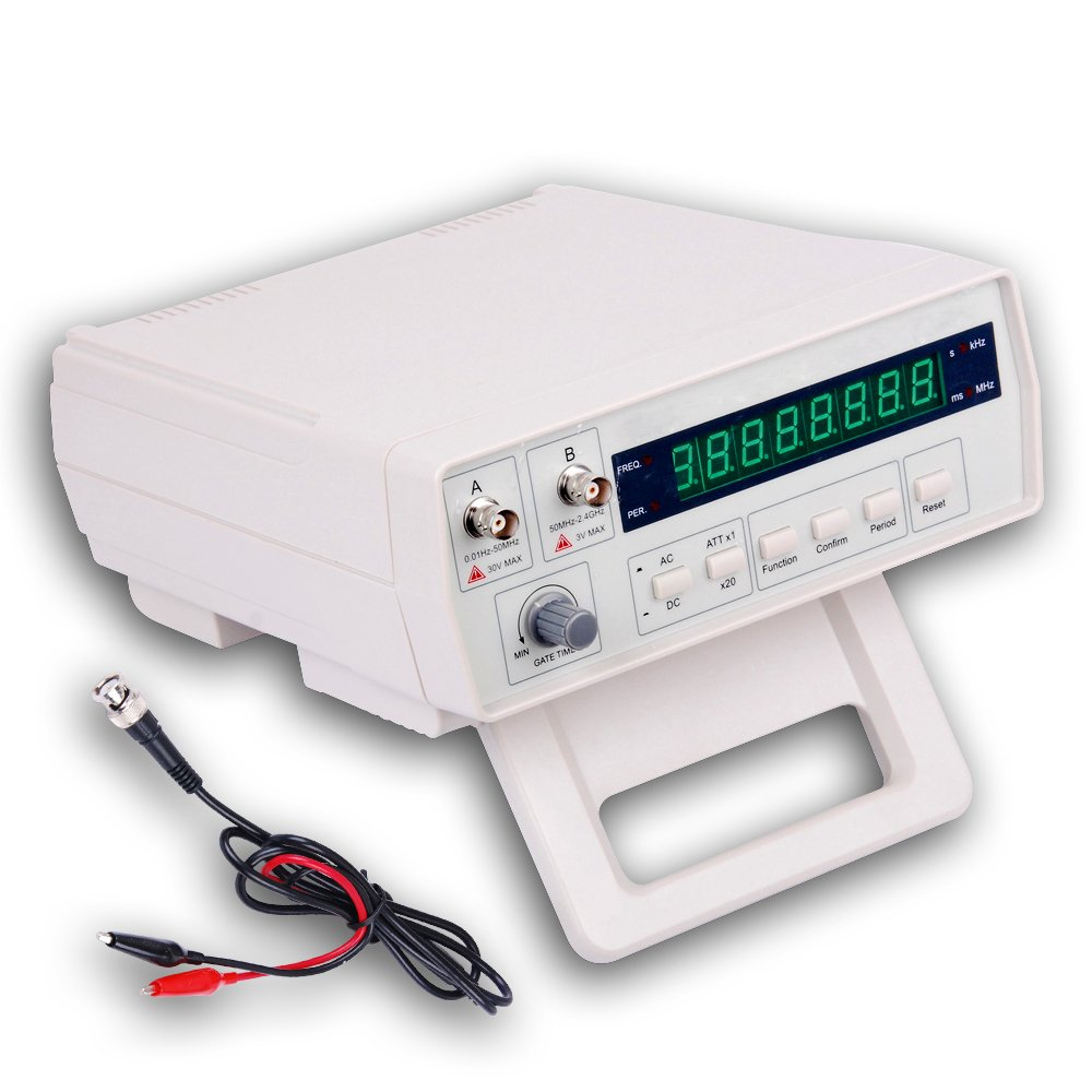 Victor VC3165 Radio Frequency Counter RF Meter 0.01Hz~2.4GHz Professional Tester Gain Express Holdings Ltd.