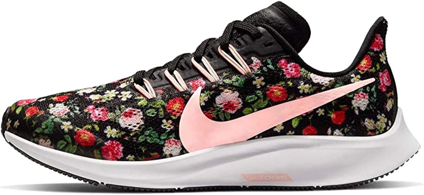 Nike Air Zoom Pegasus Vintage Floral, Zapatillas de Trail Running Unisex niño, Multicolor (Black/Pink Tint/Pale Ivory/White 1), 33 EU: Amazon.es: Zapatos y complementos